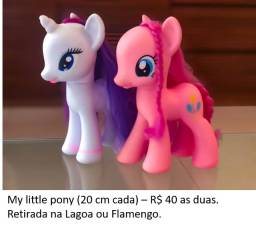 My Little Pony 20 cm - Pinkie Pie e Rarity