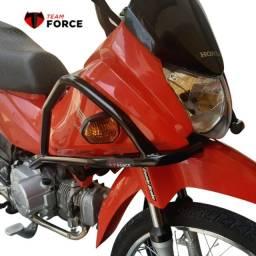 Protetor de Carenagem Honda Pop 110 Tforce Todos os anos Sem Slider