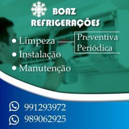 Ar condicionado manutenção e instalação