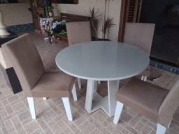 Conjunto de Mesa de Jantar 4 Cadeiras- A Combinar
