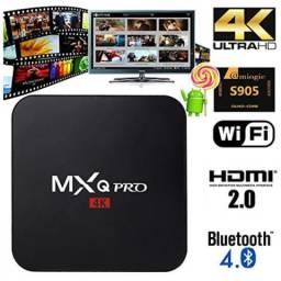 Tv bo XQro1 Android 7.1.2 TV Box Player com ROM de