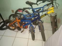 Vendo 3 bicicleta são as 3 pó r$350