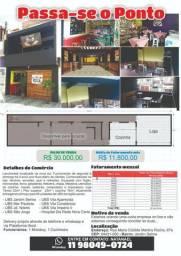 Passa-se o Ponto Lanchonete / Restaurante e Sorveteria: Atendemos fixo 8 UBS da região