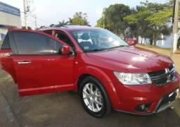 Dodge Journey R/T Vermelha 2012/2013 Completa Mulher - 2012