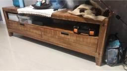 Rack de madeira
