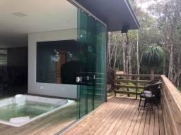 Excelente Casa em Sitio com Jacuzzi e vista privilegiada -Turismo Rural