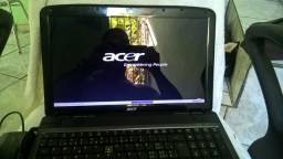 Notebook Acer 5738 Dual Core hd 500gb tela de 15,6'' Led