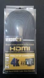 Cabo HDMI versão 2.0 video em 3D