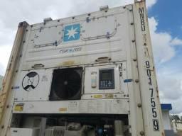 Locação de container reefer nível importação e exportação.