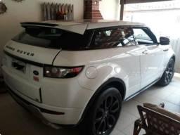 195d28237 Range rover Evoque Esportiva Coupe dynamic tech Branca + Teto + Banco  vermelho - 2012
