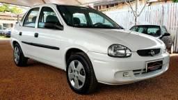Corsa sedan 1.0 2008 ar condicionado gelando ## aceito seu usado como entrada - 2008