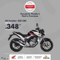 Moto Honda CB 250 Twister - 2019