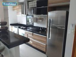 Apartamento com 3 dormitórios à venda, 85 m² por R$ 450.000,00 - J Jeriquara - Caldas Nova