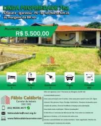 Chácara para alugar com 4 dormitórios em Br 101 norte km 26, Igarassú cod:CH00001