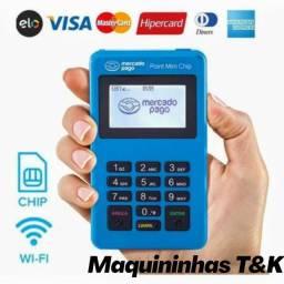 Maquininha Point Mini Chip - Entrega Grátis