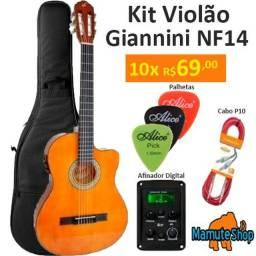 Violão Elétrico Gianinni NF-14