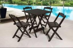 Mesas e cadeiras - Fábrica - Varias opções