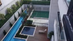 Apartamento com condomínio,3 quartos sendo 3 suítes e 2 vagas no Bairro Jardim,Santo André