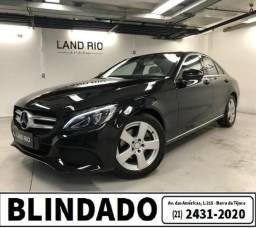 Mercedes Benz C200 2015/2016 c/57.000 km - Blindado Ipva 2020 Grátis (21) 2431-2020 - 2016
