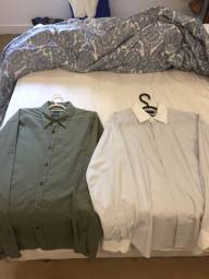 Camisas sociais Richards e outras marcas