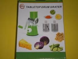 Fatiador de Legumes Tabletop Drum 3 em 1 - Cores Sortidas