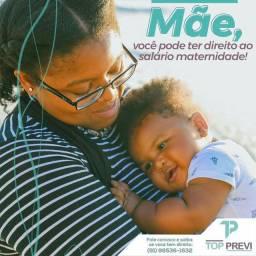 Garanta o seu salário maternidade