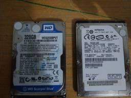 Vendo 2 HD's de notebook de 320GB