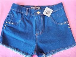 Short jeans desfiafo