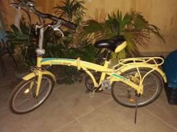 Bicicleta Dobrável circuito Pedalar, raridade!