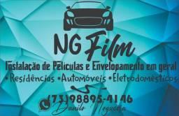 NG Film - Instalação de película e envelopamento em geral