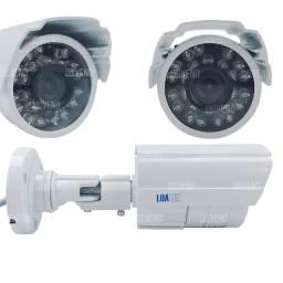 Câmera de Segurança Externa Infravermelho a Cabo