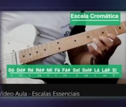 Título do anúncio: Aulas de Guitarra 2021