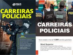 Título do anúncio: 2 Apostilas Carreiras Policiais, concurso PRF, Polícia Civil, Polícia Militar, PRF