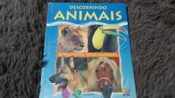Livro de ótima qualidade sobre os animais, muitas curiosidades