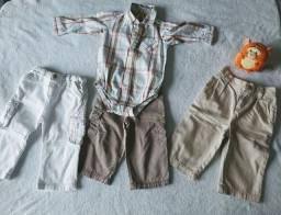 Kit roupa Bebê Menino - 9 meses