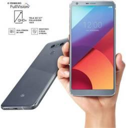 LG G6 Prata seminovo na caixa