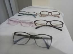 Vendo armações de óculos.