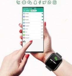 Relógio Smartwatch D20 Y68 Monitor De Saude