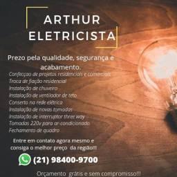 Eletricista em Niterói  eletricista residencial