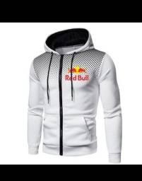 Nova Chegada Red Bull  Agasalho Masculino Zipper Com Capuz
