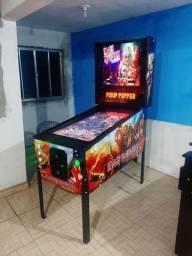 pinball Virtual em tamanho real de uma máquina mecânica mesas taito,Stern,bally,Sega