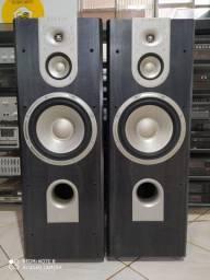 Caixas de som JBL e demais equipamentos de som, caixas e receivers