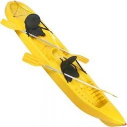 Caiaque original da Caiaker, modelo Foca, amarelo, completo