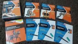 Coleção- livros de História por 15 reais