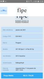 207 xr sport top de linha  de r$ 21.900 por r$ 19.90