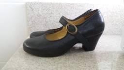 Sapato Flamenco, Feitoria, Semi-novo, Preto