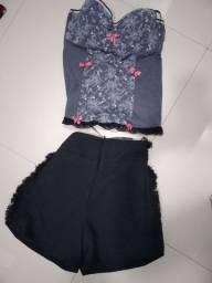 Título do anúncio: Short e corselet