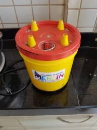 Inflador de Balões 4 Bicos Merlin Compressor Bomba para Bexigas