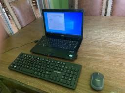 Notebook I3 SSD 240gb 4gb ram super rápido