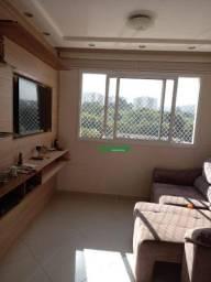 Apartamento com 2 dormitórios à venda, 56 m² por R$ 305.000,00 - Jardim Nova Taboão - Guar